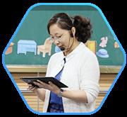 方便教师手拿PAD移动授课,支持多样化不同的教学活动方式