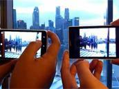 HTC One X展示超强连拍能力 0.2秒超快自动对焦