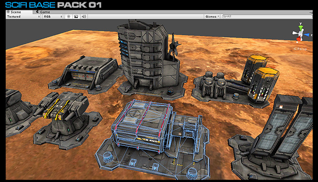 SciFi Base Pack 01