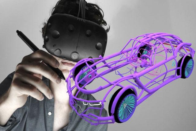 VR绘画建模工具