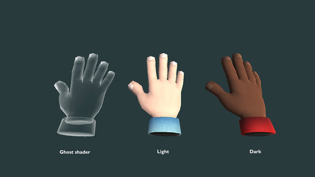VR Cartoon Hand