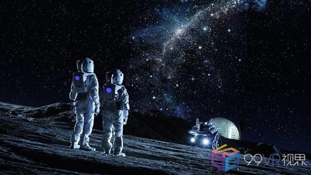 研究人员利用VR模拟太空环境