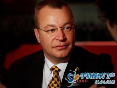 诺基亚新CEO暂管移动解决方案部门