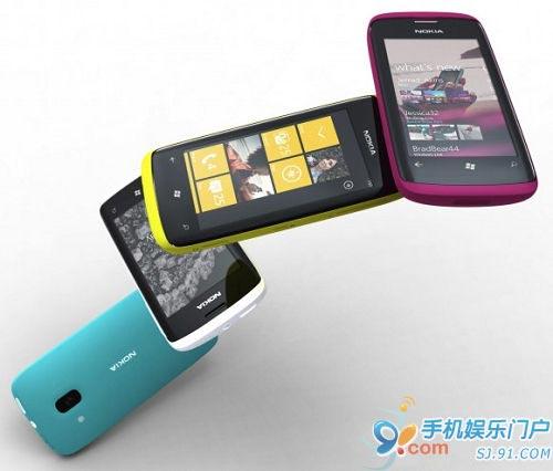 诺基亚Windows Phone 7要再等一年?