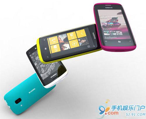 诺基亚称将每三个月发布一批WP7手机