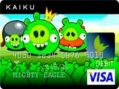 Rovio结盟信用卡公司推愤怒小鸟VISA卡